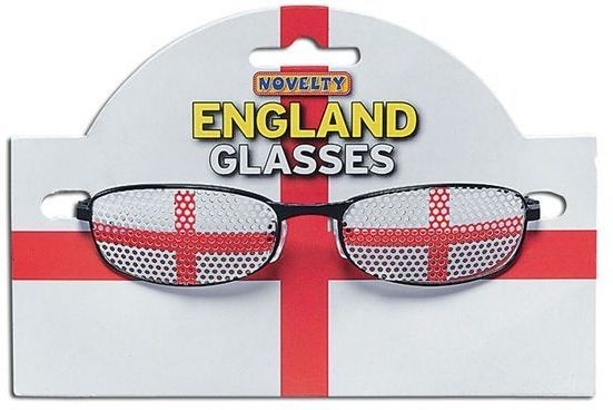 England Glasses (Cultures Fancy Dress Glasses)