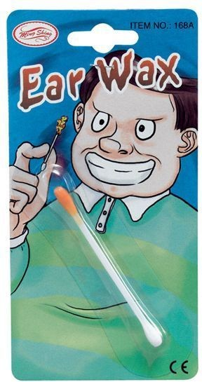 Ear Wax (On Cotton Bud) (Fancy Dress Tricks)