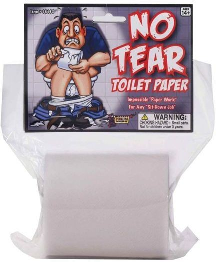 No Tear Toilet Paper (Fancy Dress Tricks)