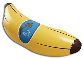 "Inflatable Banana 28"" (Food Fancy Dress Inflatables)"