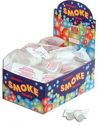 Smoke Bombs. White Pkt/2 (Fancy Dress Tricks)