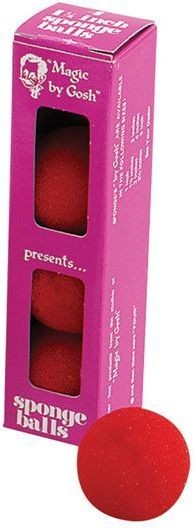 Goshman Sponge Balls Box/4 (Fancy Dress Tricks)