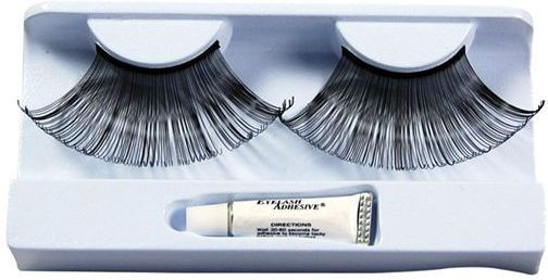 Eyelashes. Black Jumbo (Sexy Fancy Dress Eyelashes)