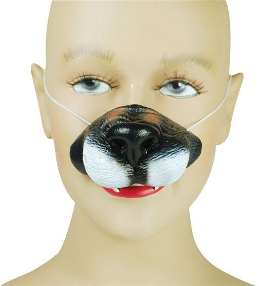 Wolf Nose (Animals Fancy Dress)