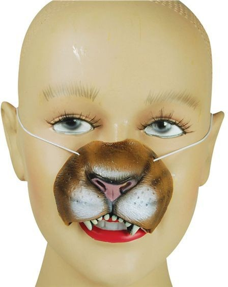 Lion Nose (Animals Fancy Dress Disguises)