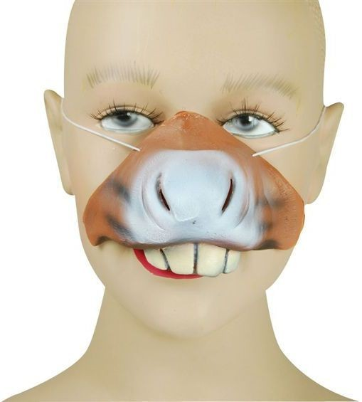 Donkey Nose (Animals Fancy Dress Disguises)