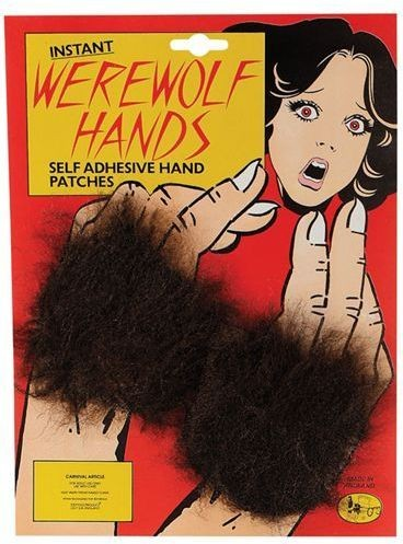 Werewolf Hands (Patches) (Halloween Fancy Dress)