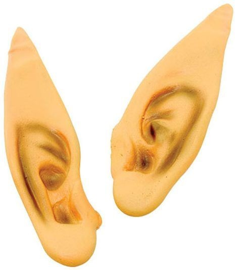 Pointed Ears. Flesh (Christmas Fancy Dress)