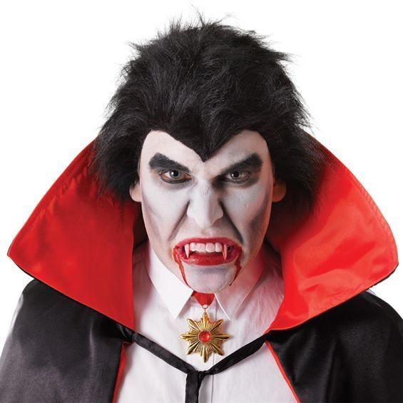 Dracula Teeth Bloody With Thermoplastic (Halloween Fancy Dress)