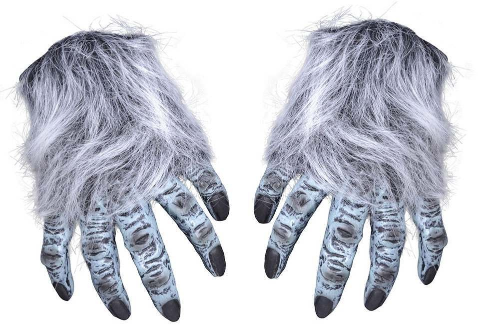 Hairy Hands Grey- Fancy Dress Halloween