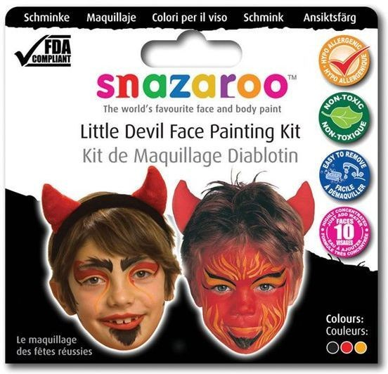 Snazaroo Theme Pack Devil (Halloween Face Paint)