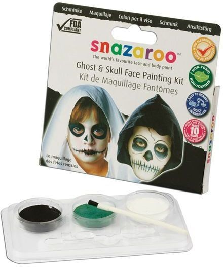 Snazaroo Theme Pack Skull (Halloween Face Paint)