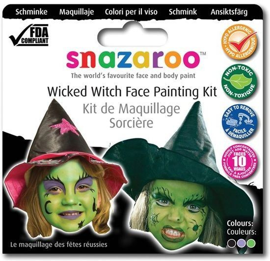 Snazaroo Theme Pack - Witch (Halloween Face Paint)