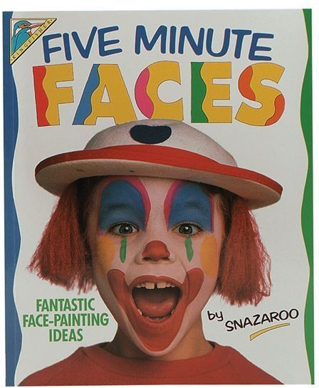 Five Minute Face Painting Book (Clowns Fancy Dress)