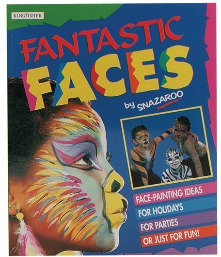 Fantastic Faces Book (Clowns Fancy Dress)