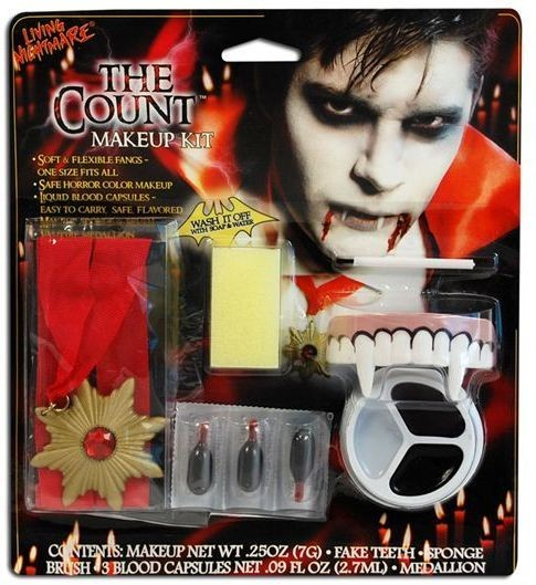 Count Makeup. Living Nightmare (Halloween Face Paint)