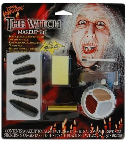 Witch Make Up Set. (Halloween Face Paint)