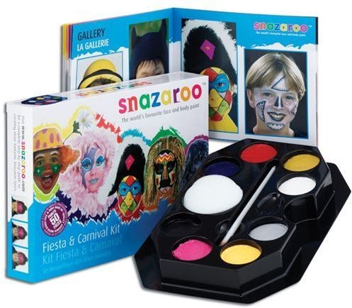 Fiesta & Carnival Pallette (Clowns Fancy Dress Face Paint)
