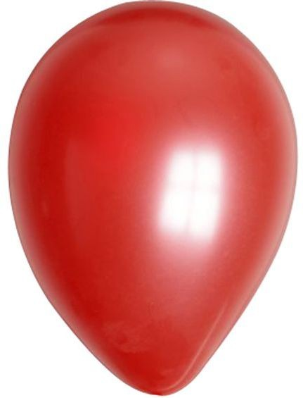 No 12 Red Metallic Balloons (Fancy Dress)