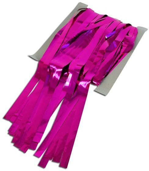 Tinsel Curtain Pink (Fancy Dress Decorations)