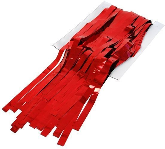 Tinsel Curtain Red (Fancy Dress Decorations)