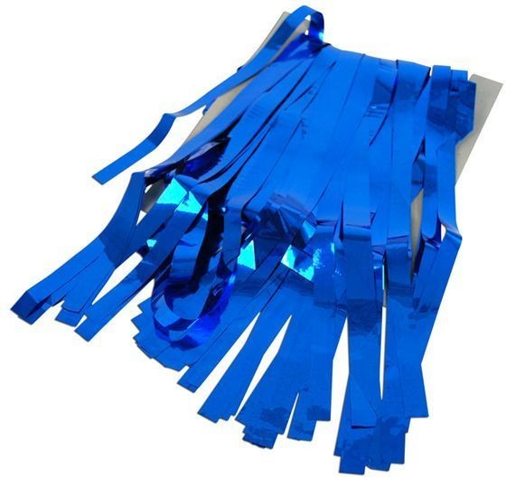 Tinsel Curtain Blue (Fancy Dress Decorations)