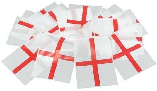 Bunting. St.George 7M, 25 Flags (Fancy Dress)