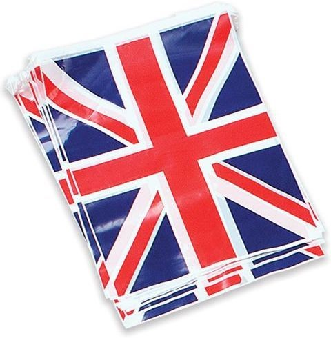 Bunting. Uj 7M, 25 Flags (Fancy Dress)