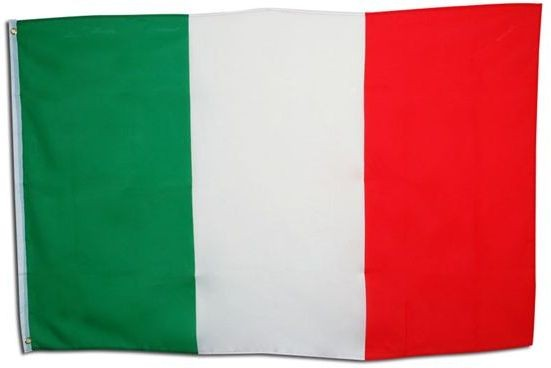 Italian Flag. 3' X 5' Cloth (Fancy Dress)