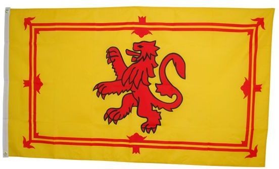 St Andrew Flag. 5' X 3' Cloth (Fancy Dress)