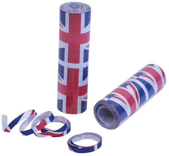Union Jack Streamers (Fancy Dress)