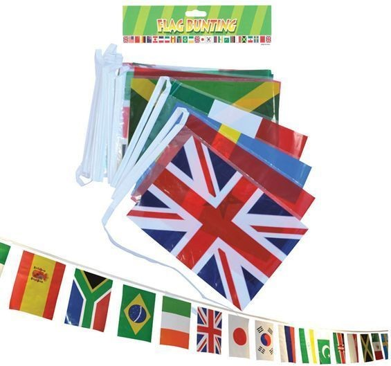 Multi Nation Bunting (Fancy Dress)