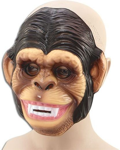 Plastic Animal. Monkey (Animals Fancy Dress Masks)