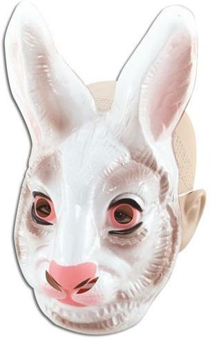 Plastic Animal. Rabbit (Animals Fancy Dress Masks)