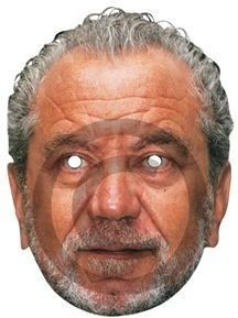 Alan Sugar / Card Mask (Fancy Dress Masks)