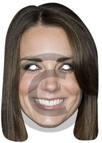 Duchess Of Cambridge (Royalty Fancy Dress Masks)
