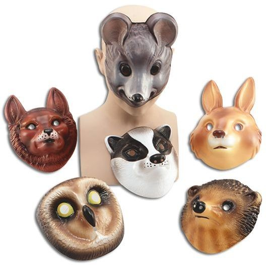 Woodland Friends Animals (Animals Fancy Dress Masks)