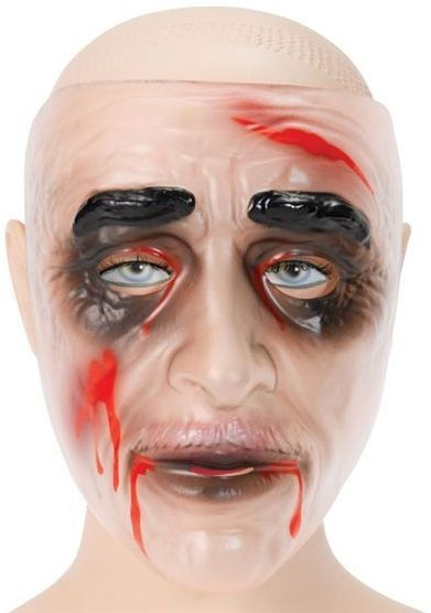Zombie Transparent Male (Mouth) (Halloween Masks)