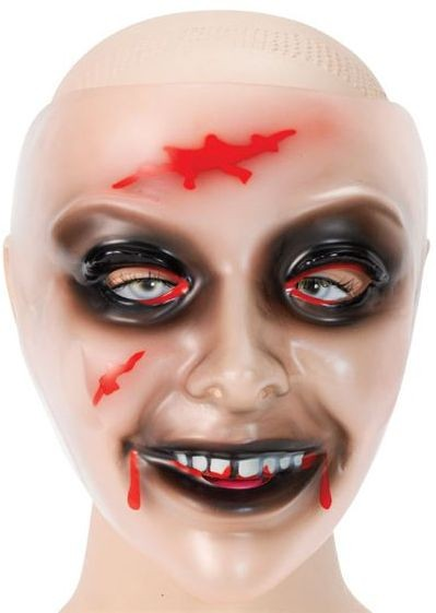 Zombie Transparent Female (Halloween Masks)