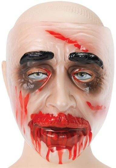 Zombie Transparent Male (Drips) (Halloween Masks)