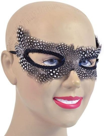 Black/White Flyaway (Fancy Dress Eyemasks)
