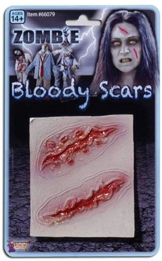 Zombie 2 Wound Scars (Halloween Disguises)