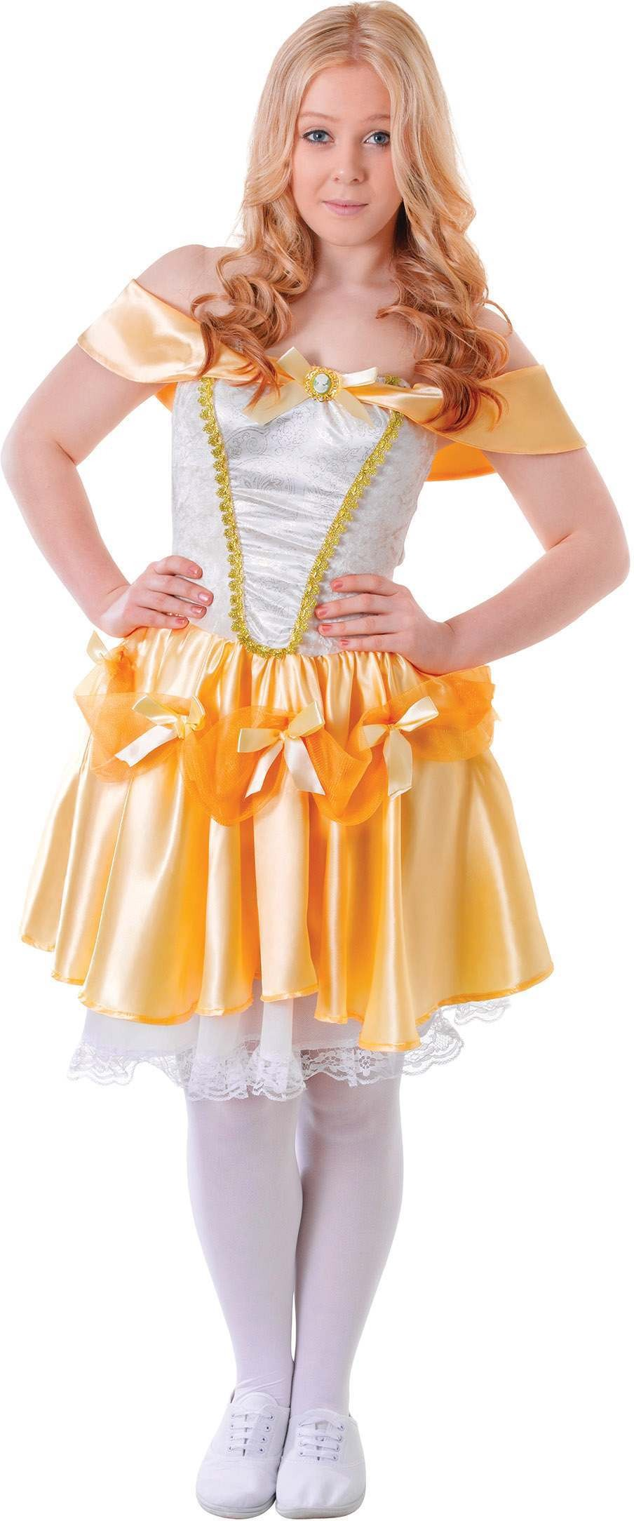 Teen Period Belle Ballroom Fancy Dress Costume