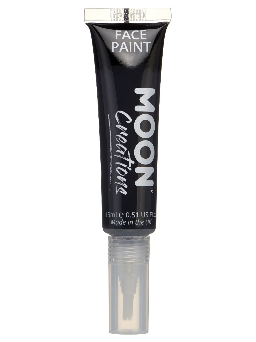 Moon Creations Face & Body Paints Black
