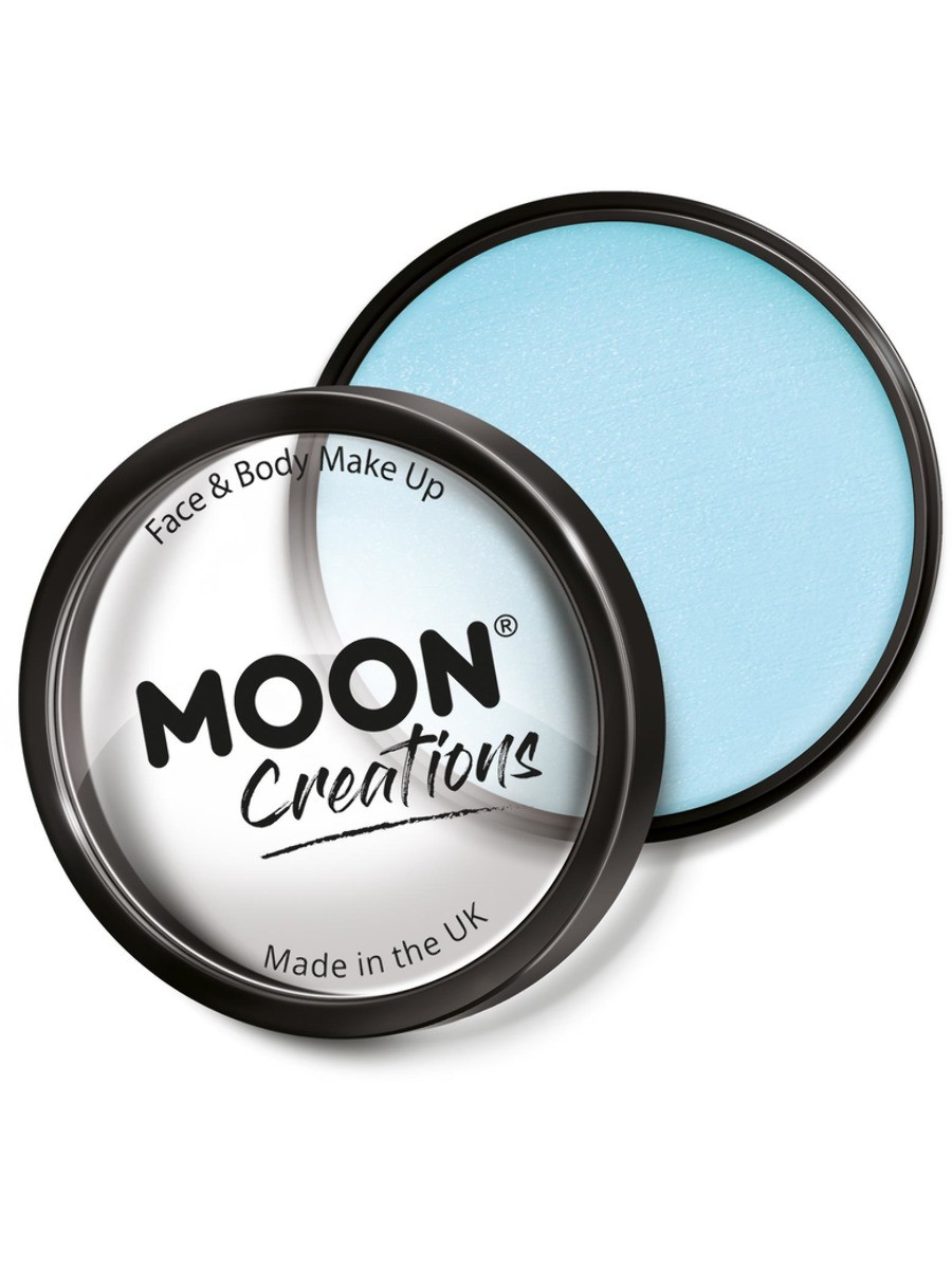 Moon Creations Pro Face Paint Cake Pot Light Blue