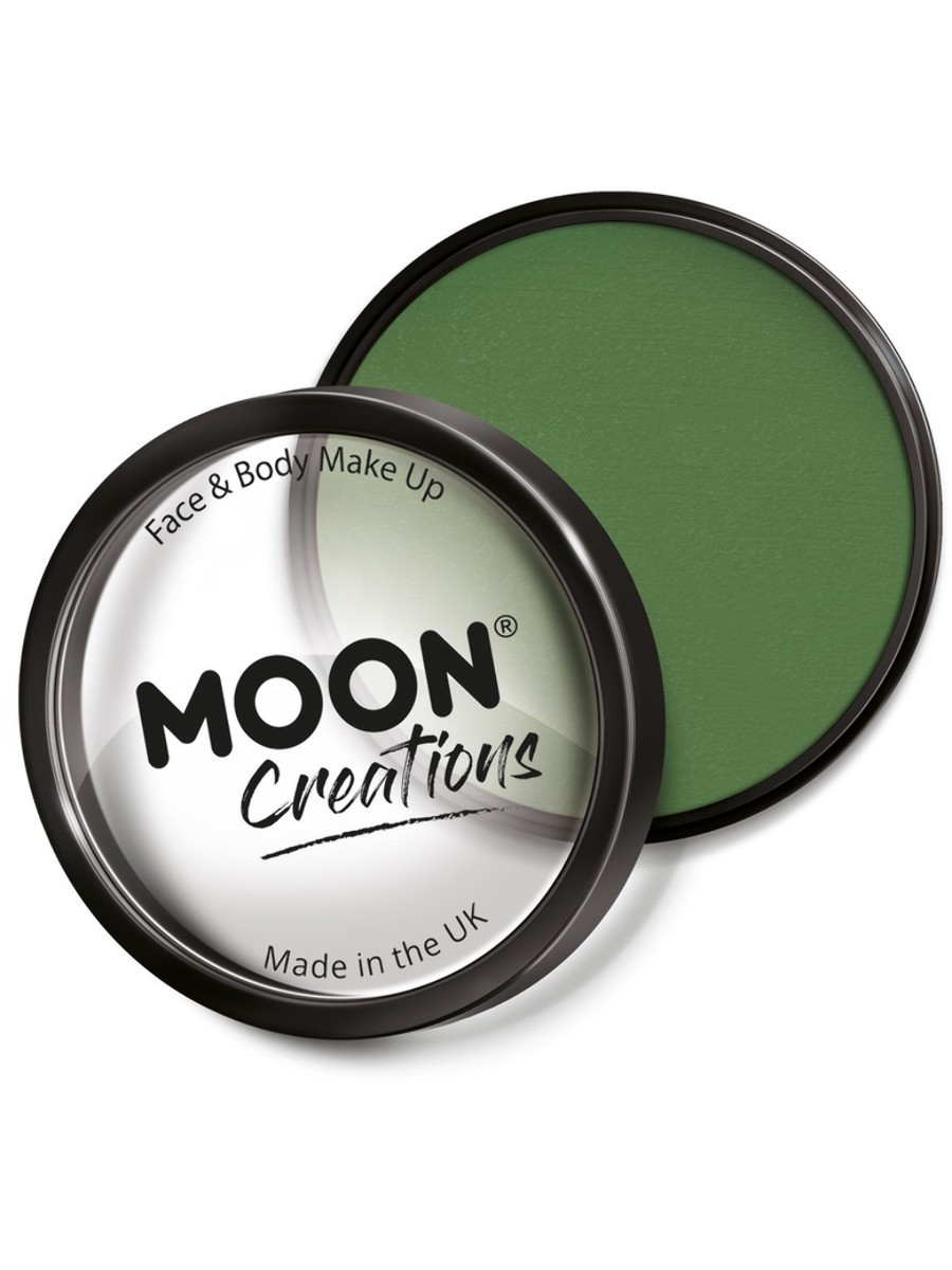 Moon Creations Pro Face Paint Cake Pot Green