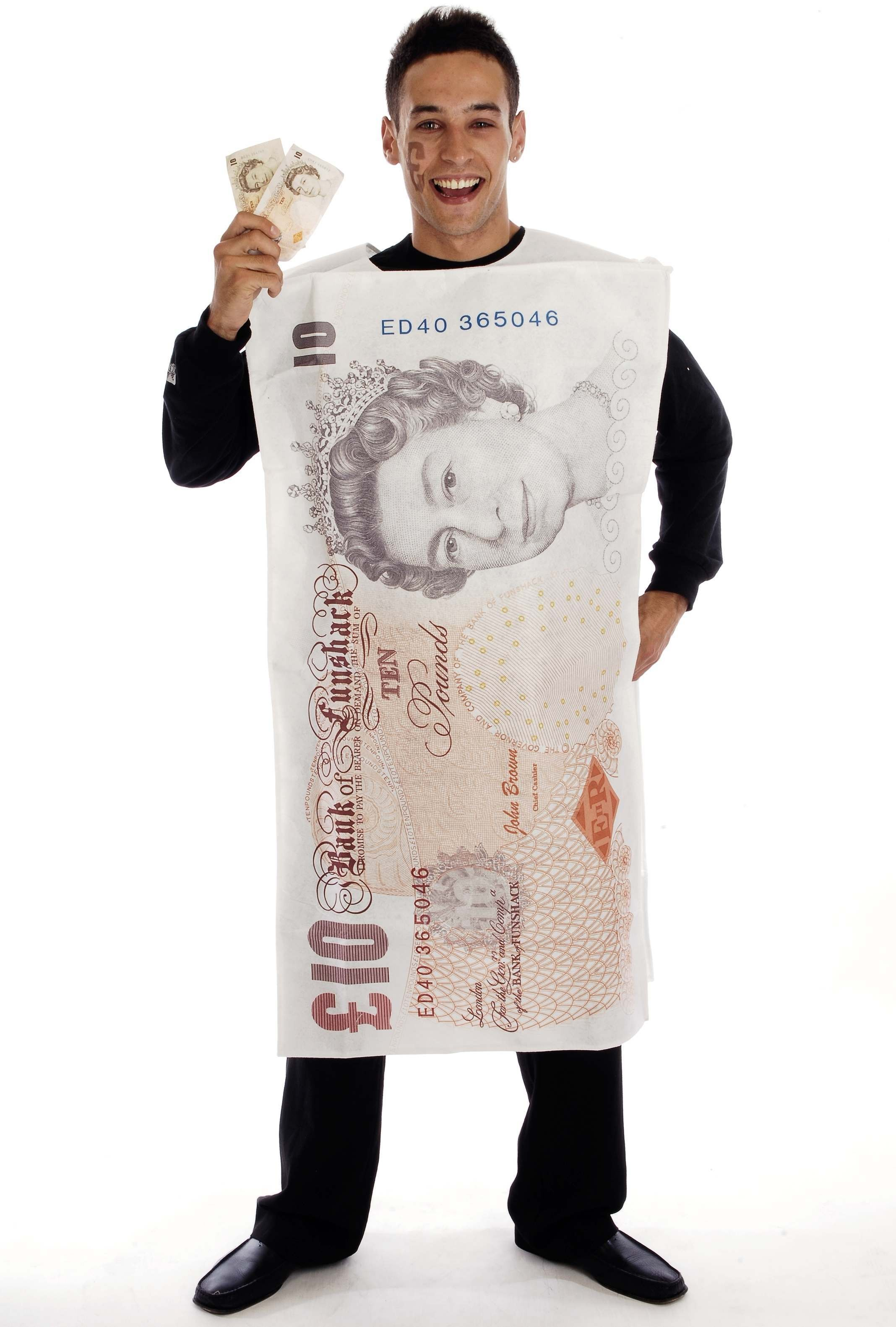 Tasty Tenner Costume One Size Fits Most (Hen & Stag)