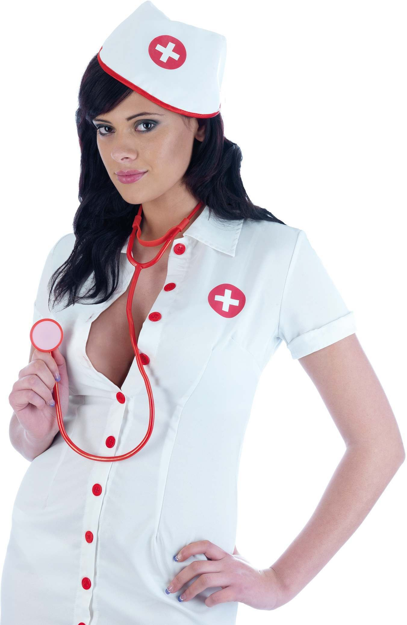 Nurse Fancy Dress Costume Ladies (Doctors/Nurses)