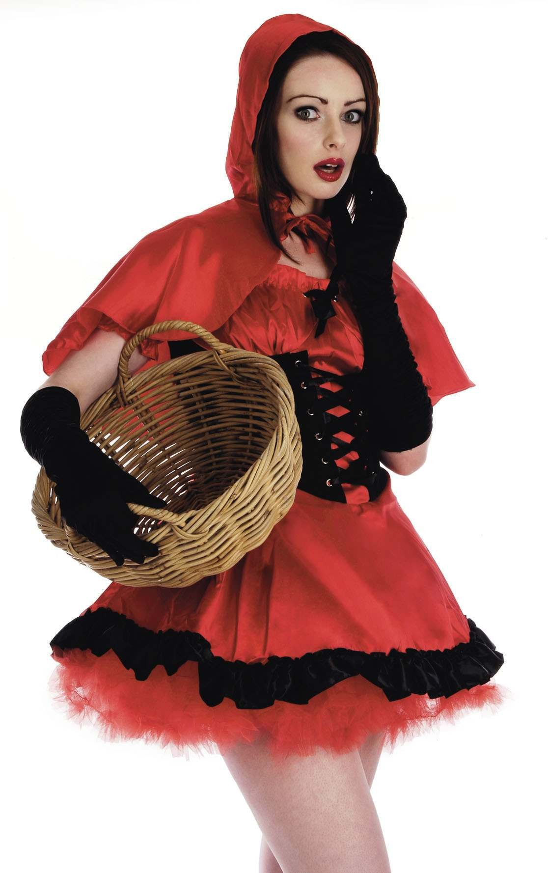 Red Riding Hood Fancy Dress Costume Ladies (Fairy Tales)