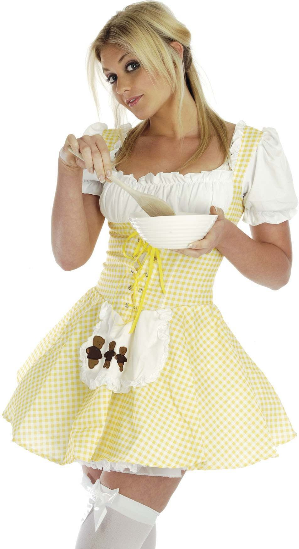 Goldilocks Fancy Dress Costume Ladies (Fairy Tales)